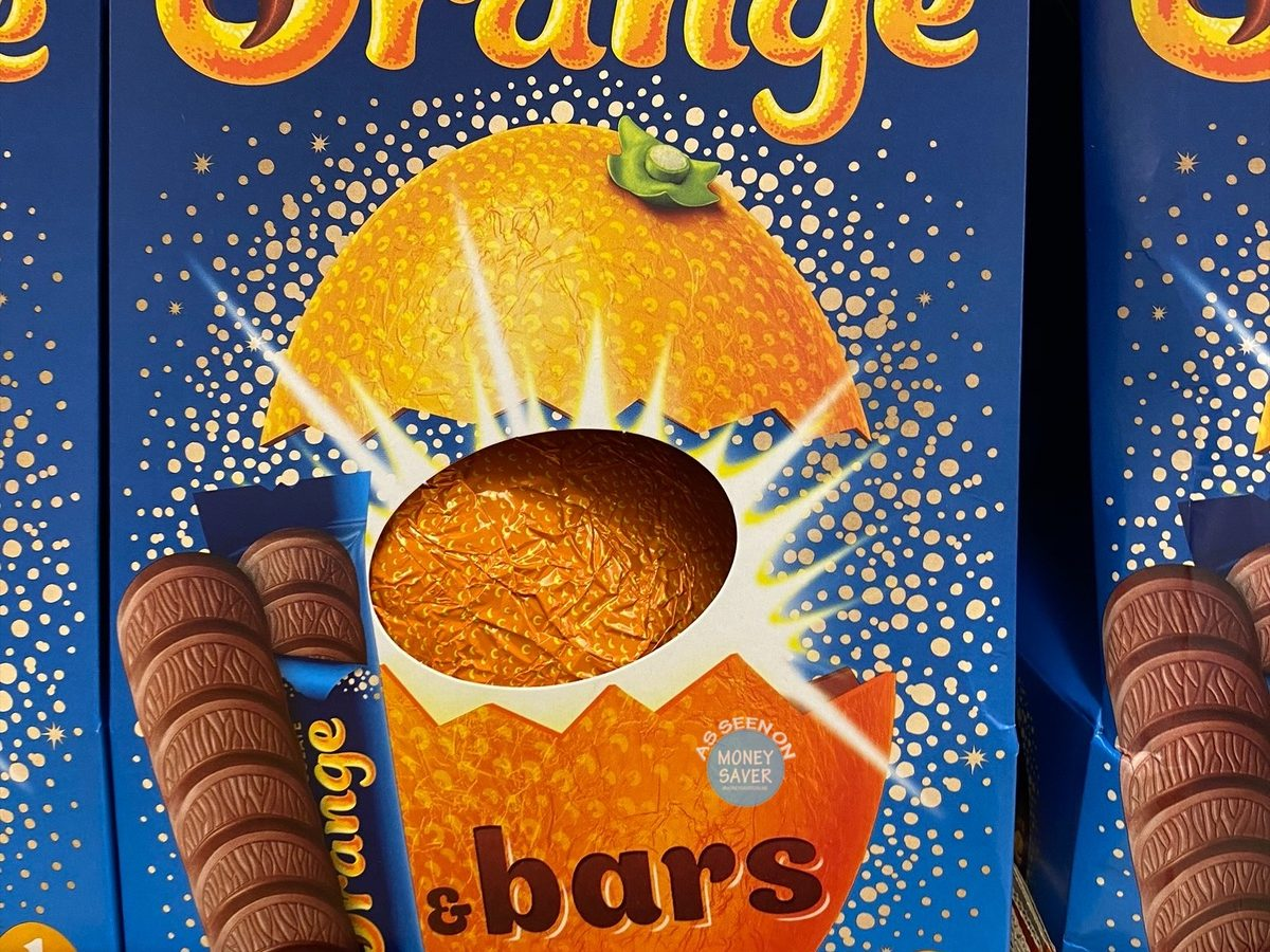 Terrys Chocolate Orange Easter Egg From Tesco Goes Viral