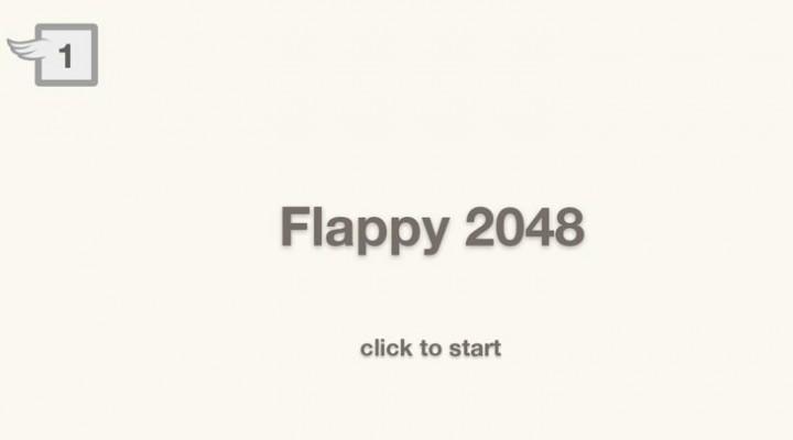 2048 Flappy Bird game now online