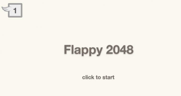 2048 Flappy Bird game now online