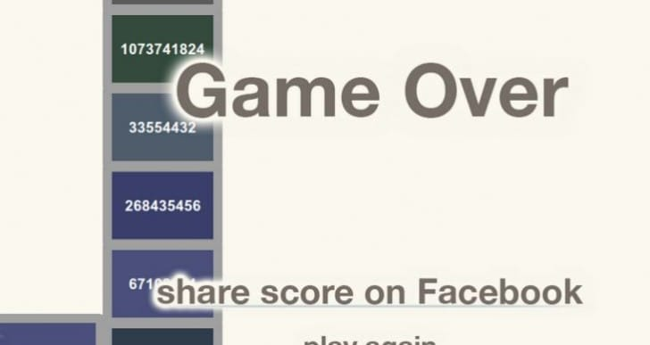 2048 high score sets game record