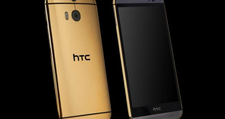 24ct. Gold HTC One M8 vs. Galaxy S5 wait