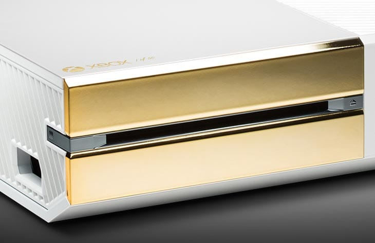 24k Xbox One Pearl launched by ColorWare