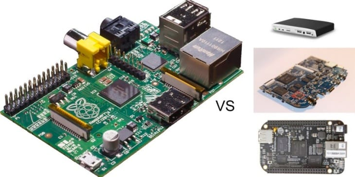 A handful of Raspberry Pi alternatives