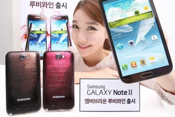 3 new Samsung Galaxy Note 2 color options available today