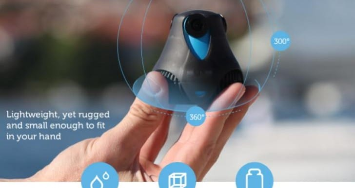 360cam from GIROPTIC funded, unlike ex-Apple version