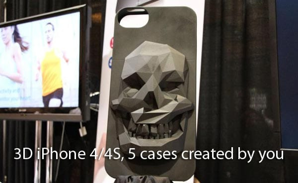 3D iPhone 4/4S, 5 cases created by you with Sculpteo
