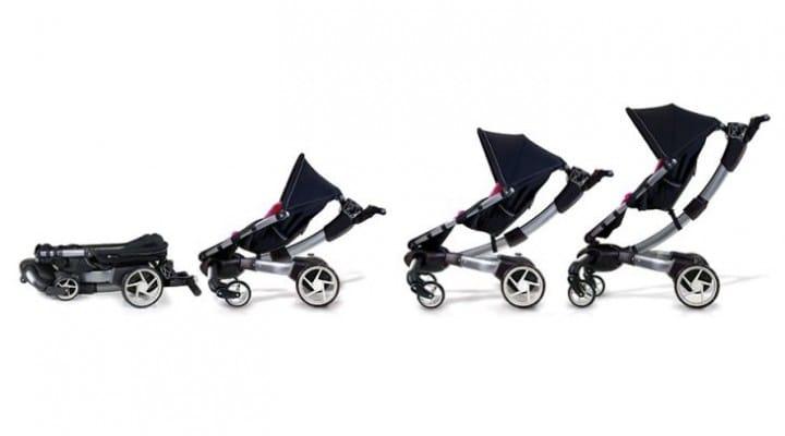 4 Moms Origami stroller video excites