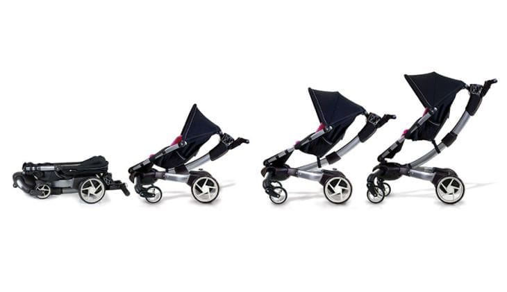 4 Moms Origami stroller video excites
