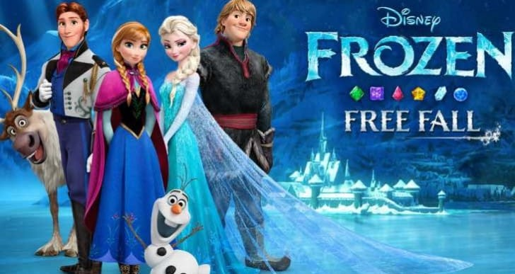45 new Frozen Free Fall levels in Christmas update