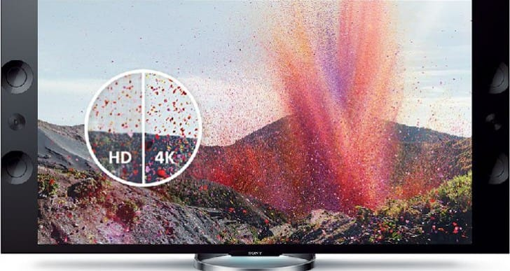 Sony will focus on 4K TVs at CES 2014