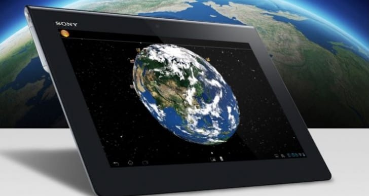 4K Sony Xperia tablet display looms