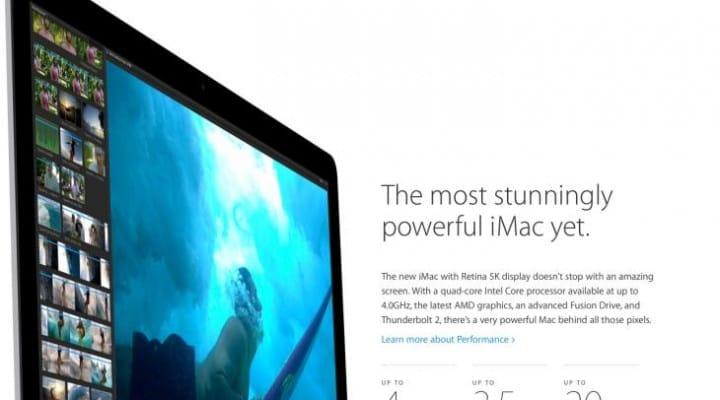 4k resolution monitor vs. iMac with Retina 5K display