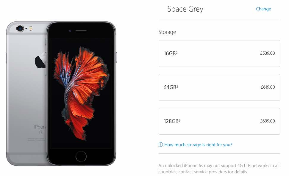 64GB iPhone 7 at 16GB price point desired | Product ...