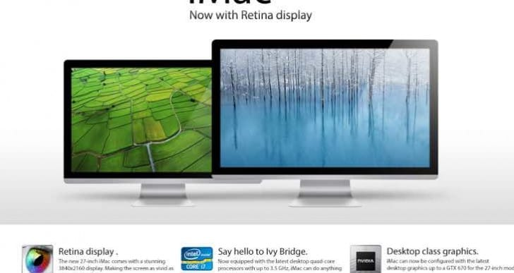 8K iMac and MacBook Pro could be excessive