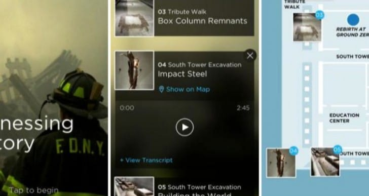 9/11 Memorial Museum Audio Guide app for iPhone, iPad