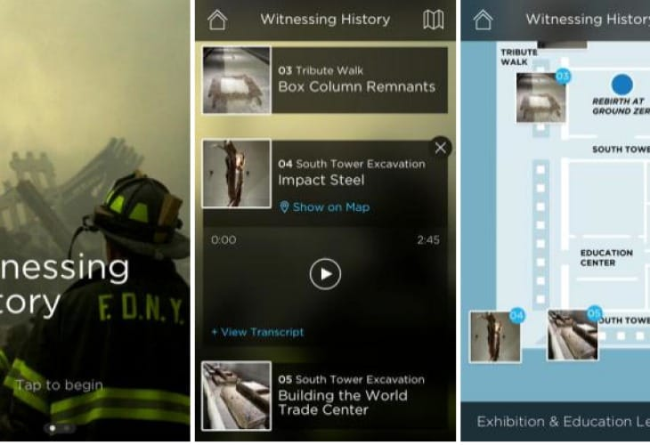 9:11 Memorial Museum app for iPhone and iPad