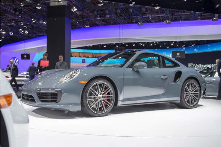 911 Porsche Turbo S performance