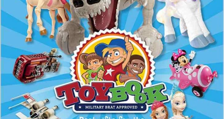 Target, AAFES Toy Book sale events for inspiration