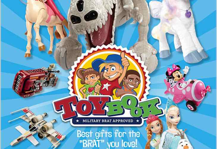 AAFES Toy Book sale