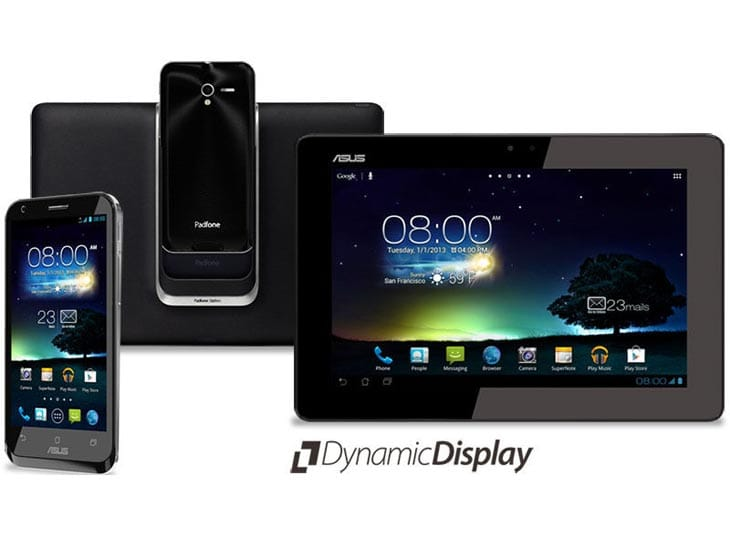 ASUS Padfone 2 vs. Infinity and Padfone 1 – Product ...