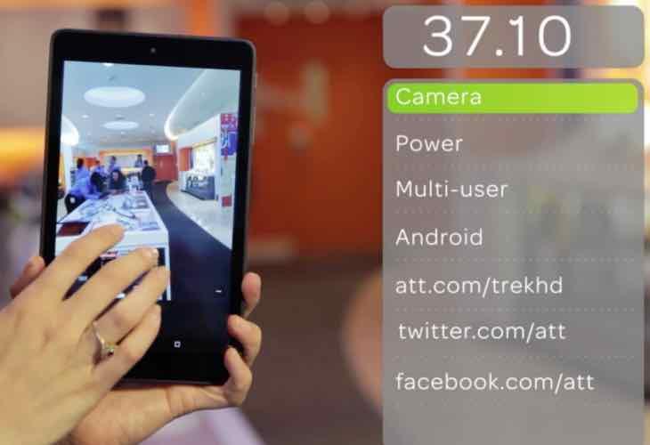 AT&T Trek HD 4G LTE tablet