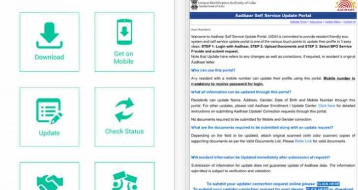 Aadhaar Card November update insisted for bugs