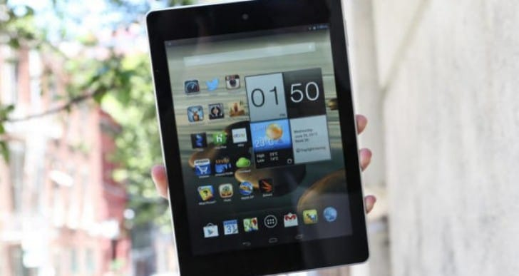 Acer Iconia A1-810-L615 7.9-inch Android tablet specs