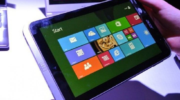Acer Iconia W4 launch delayed until January