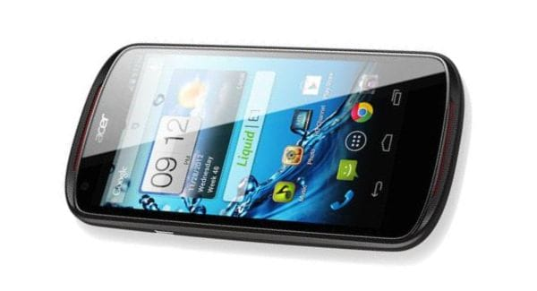Acer Liquid E1 phone revealed with Android 4.1 Jelly bean