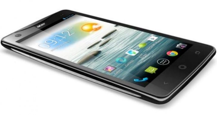 Acer Liquid S1 front and rear camera test