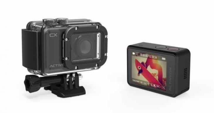 Activeon CX HD Action Camera Vs GoPro Hero