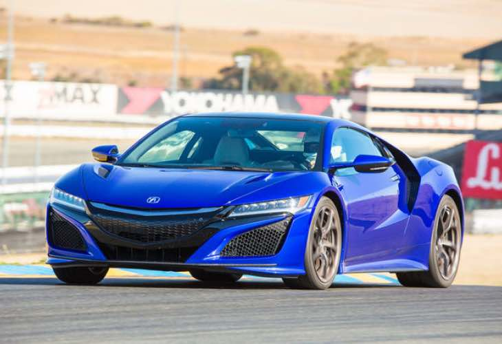 Acura NSX test