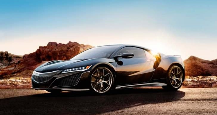 Additional 2017 Acura NSX launch details