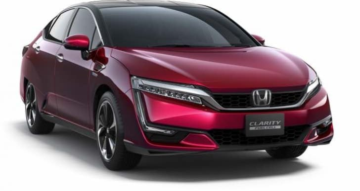 Additional Honda Clarity Fuel Cell details, price MIA