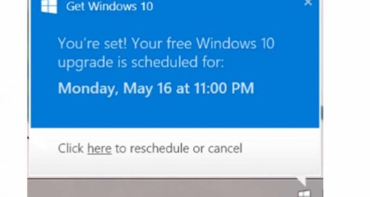 Additional Windows 10 warning to stop update not enough