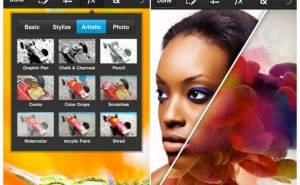 Adobe Photoshop Touch for phones, functionality and compatibility