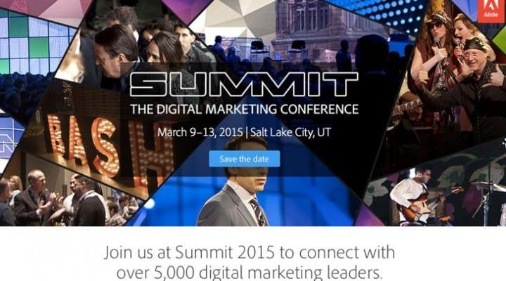 Adobe Summit 2015 dates