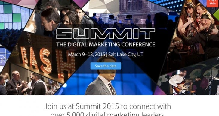 Adobe Summit 2015 dates