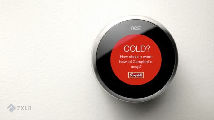 Ads on Google Nest
