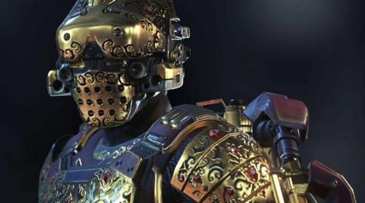 COD Advanced Warfare Grandmaster armor exclusive unlock