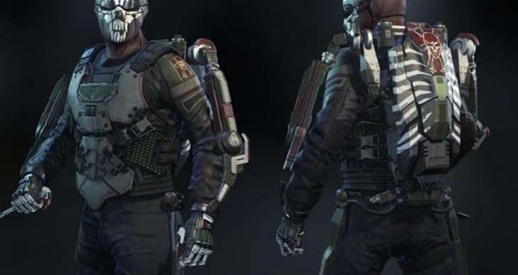 Advanced Warfare KVA Paramilitary character gear live