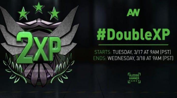 Advanced Warfare CGN follows Double XP end time
