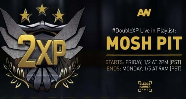 GTA V Double RP joins Advanced Warfare x2 XP on Sun