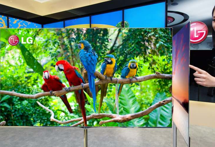 LG's affordable 55EG920V 4K OLED TV listing