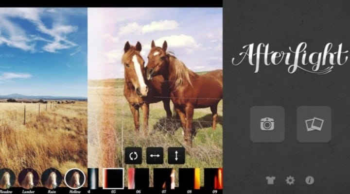 Afterlight Android app released at 1.0.1