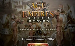 Age of Empires: World Domination early access encouraged