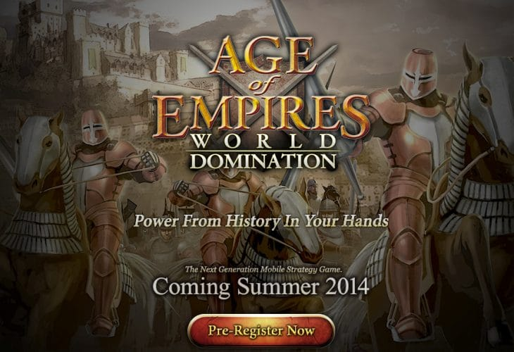 Age of Empires- World Domination early access encouraged