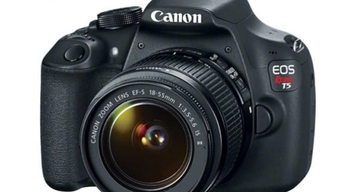 Aging Canon Rebel T5 specs reflect price