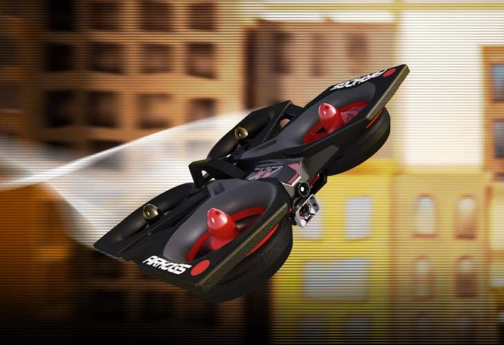 Air Hogs Helix XV Video Drone review in flight