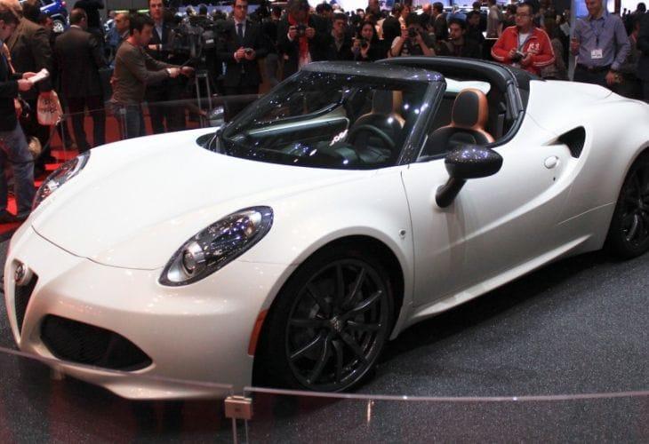 Alfa Romeo 4C Spider 2014 Geneva Motor Show reveal